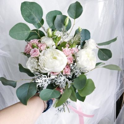 register of marriage bouquet