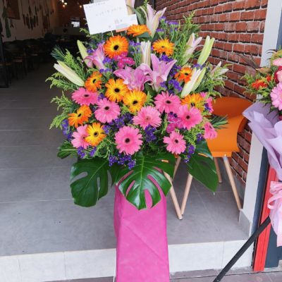 opening flower stand 10002